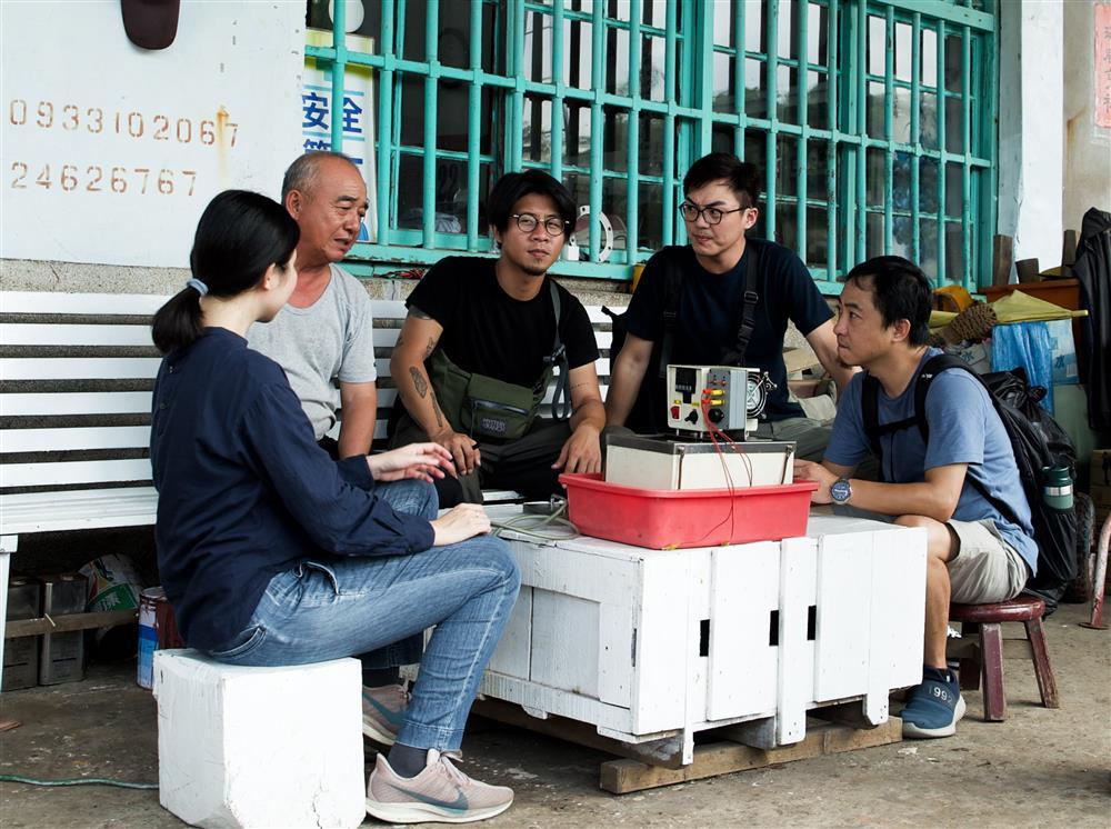 2020基隆潮藝術_藝術團隊木罐子設計製作走訪阿根納週邊船廠,和當地耆老訪問當年船廠風華。