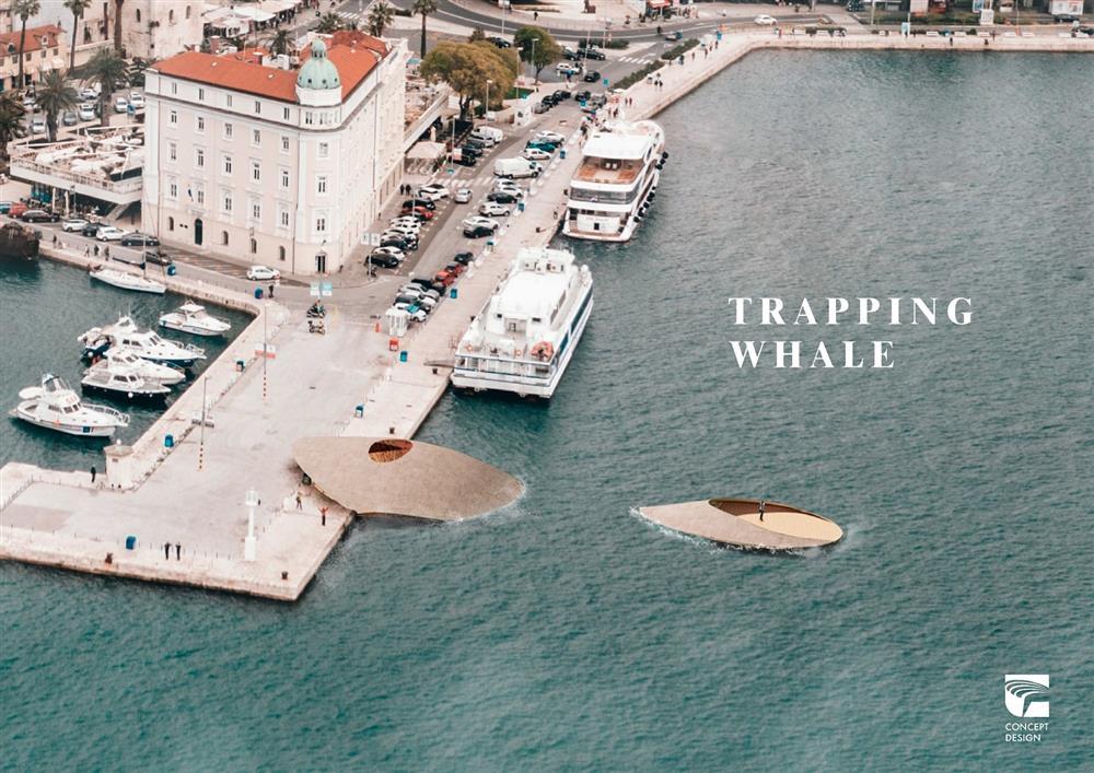 2020金點概念設計獎標章作品:「束縛的鯨魚」(劉承儒,台灣)