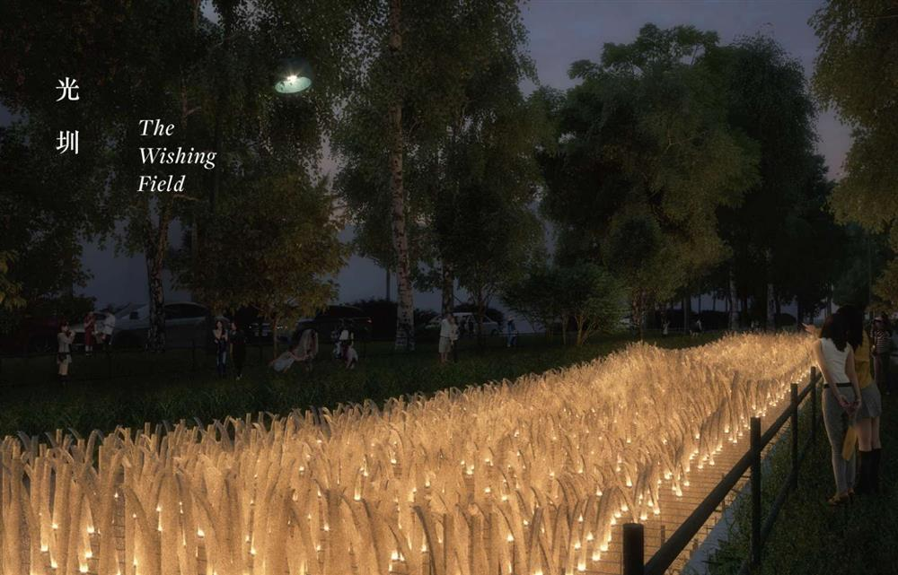 2021新竹光臨藝術節的隆恩圳燈區2021台灣燈會新竹市3