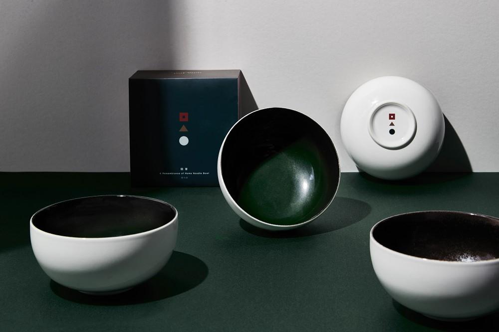2021文博設計品牌_臺華窯_《回家》雙色釉燒麵碗