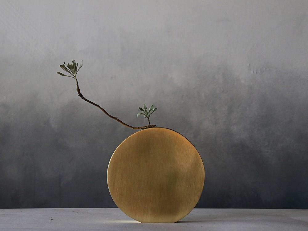 2021文博設計品牌_YangYang_黃銅花器