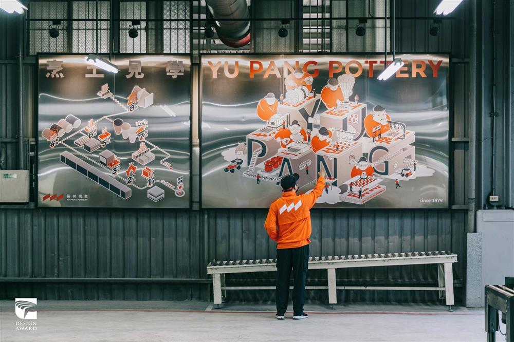 2021金點設計獎標章獲獎作品:工廠革命-傳產窯廠復興計畫(格式設計展策,台灣)