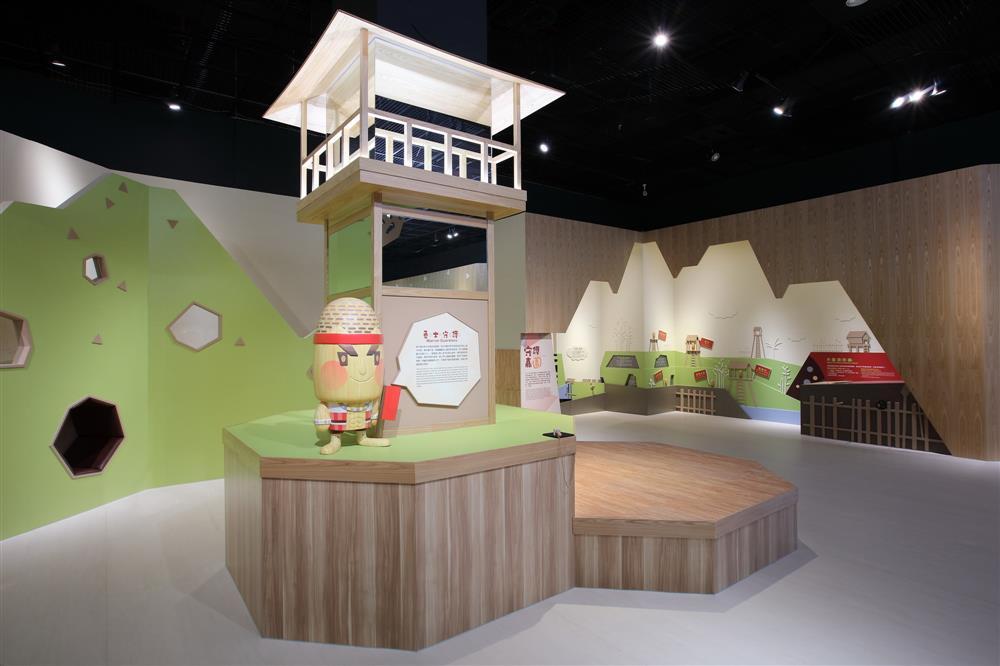 適合親子同遊的嘉義市立博物館「探索嘉園」兒童廳