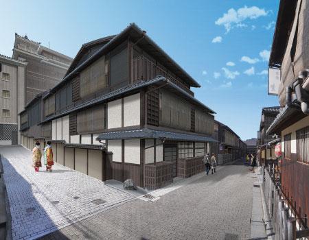 日本帝國大飯店京都祇園拓點11