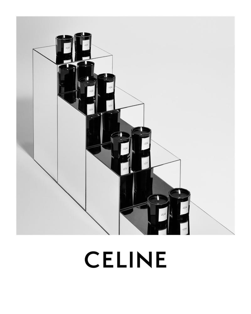 CELINE首款「高訂香氛蠟燭」系列登場!建築感線條、經典Triomphe Logo共構絕美瓶身