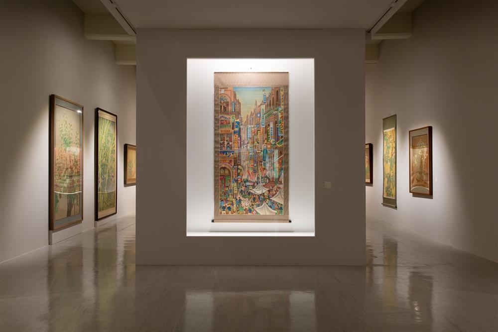 2021北美館「走向世界:臺灣新文化運動中的美術翻轉力」展覽11