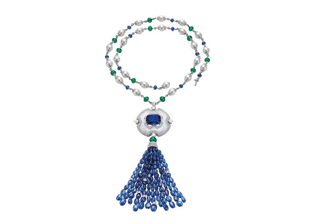 262513_BVLGARI頂級藍寶石、祖母綠與鑽石項鍊