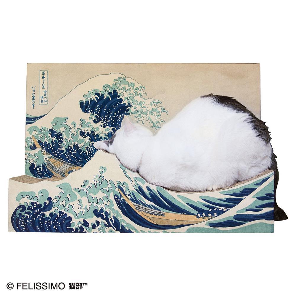 貓抓板、近江牛變身浮世繪名作!搖身一變成家中藝術品的日本創意設計_04