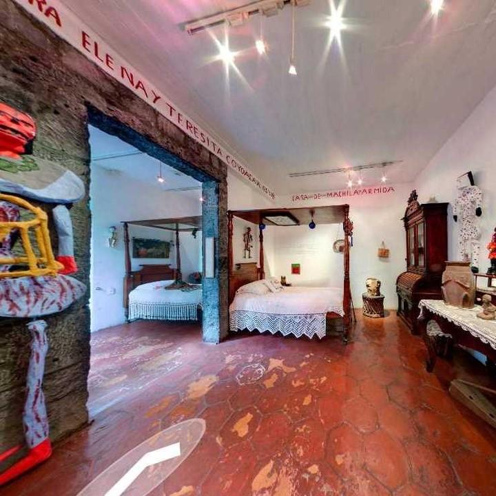 芙烈達·卡蘿博物館(Frida Kahlo Museum)線上看06