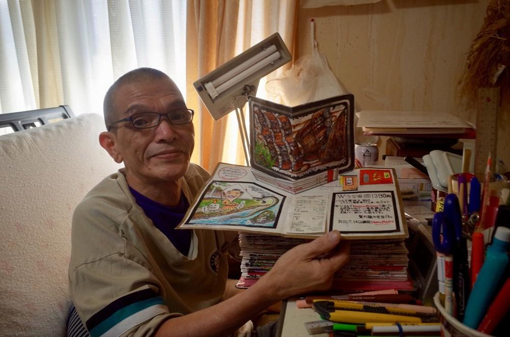 32年不懈畫出美味!日本退休廚師小林一緒的美食插畫筆記本