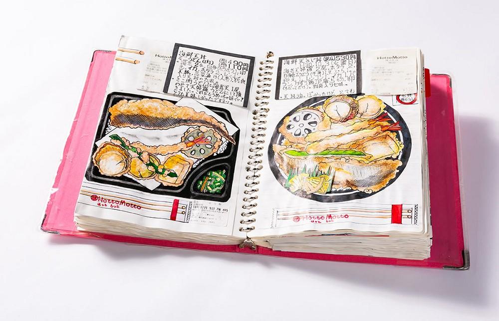 32年不懈畫出美味!日本退休廚師小林一緒的美食插畫筆記本_01