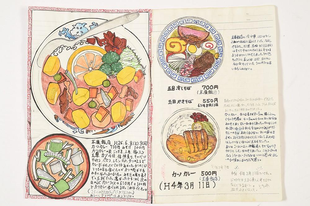 32年不懈畫出美味!日本退休廚師小林一緒的美食插畫筆記本3