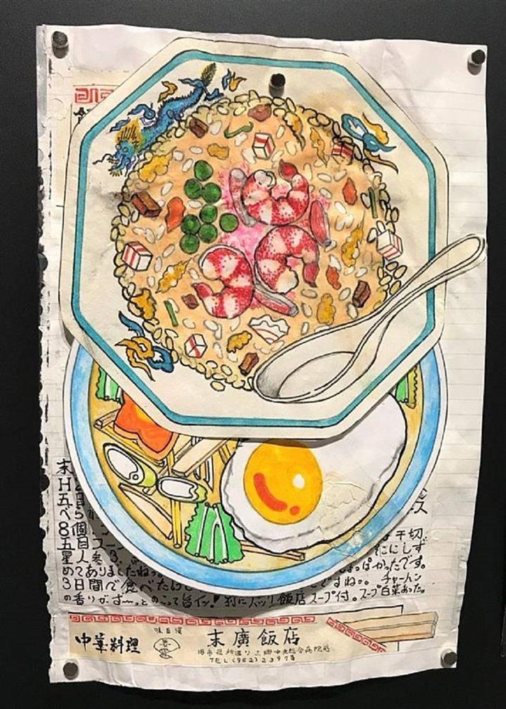 32年不懈畫出美味!日本退休廚師小林一緒的美食插畫筆記本_05