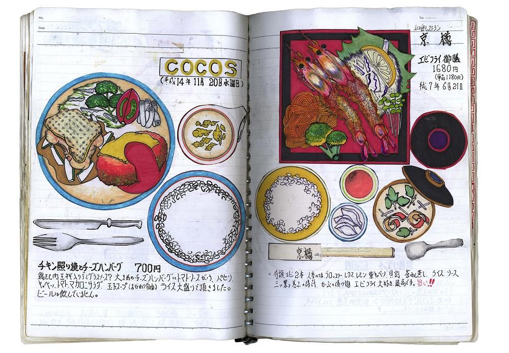 32年不懈畫出美味!日本退休廚師小林一緒的美食插畫筆記本7