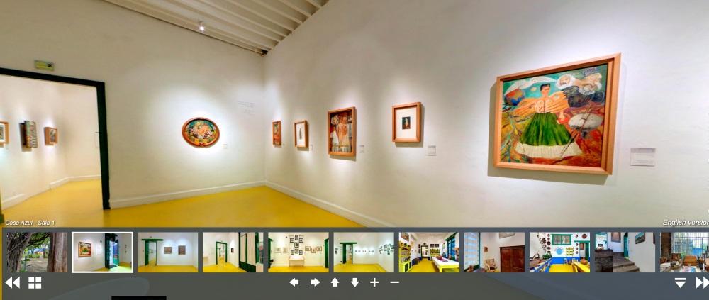 芙烈達·卡蘿博物館(Frida Kahlo Museum)線上看02