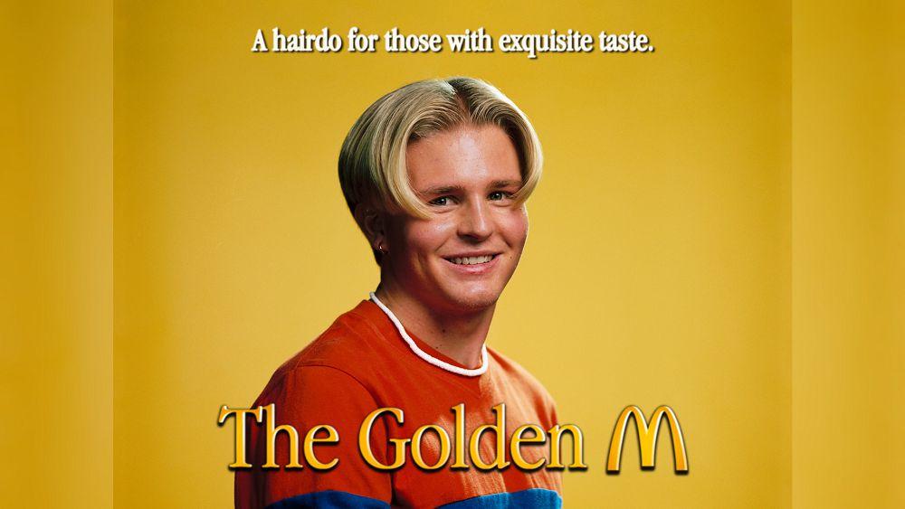 麥當勞在瑞典開起「理髮店」!復古 M 字中分瀏海呼應 Logo 金拱門,北歐幽默開張