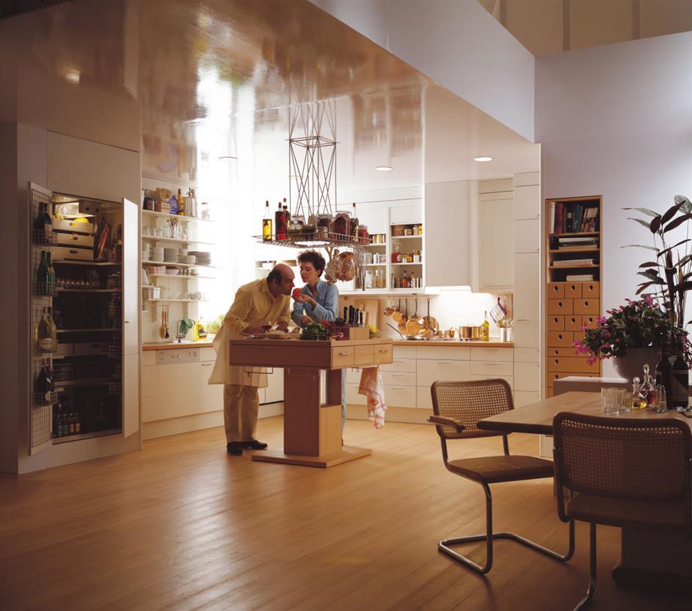 新生活空間的設計美學 探尋生活本質的夢想廚房