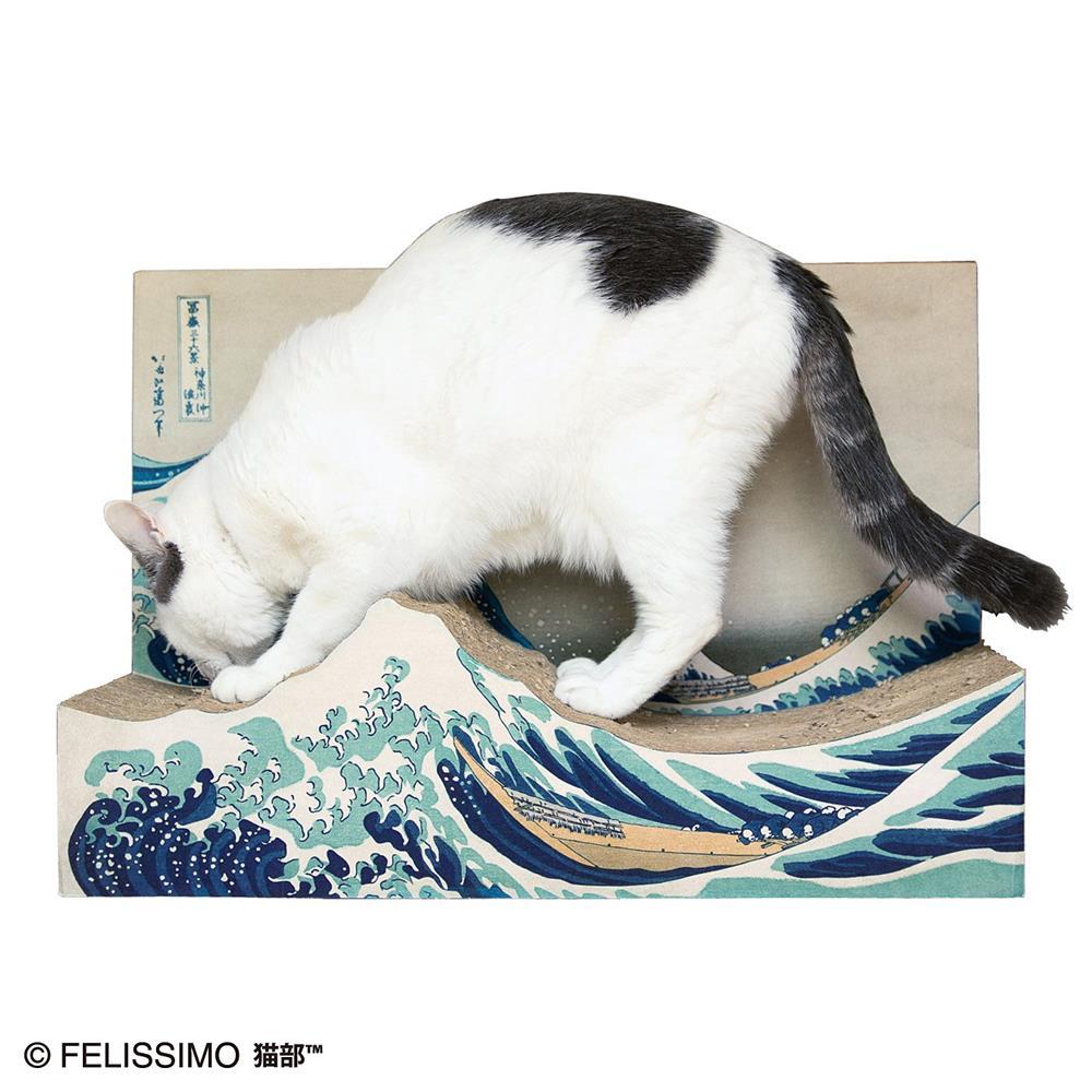 貓抓板、近江牛變身浮世繪名作!搖身一變成家中藝術品的日本創意設計_01
