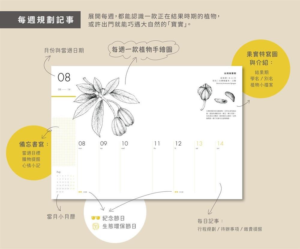 2022臺灣種實週曆4