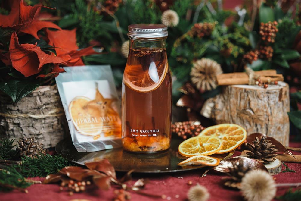 5-小草作最受歡迎的人氣花草茶體驗組,暖暖喝做好溫感保養,渡過秋冬季節