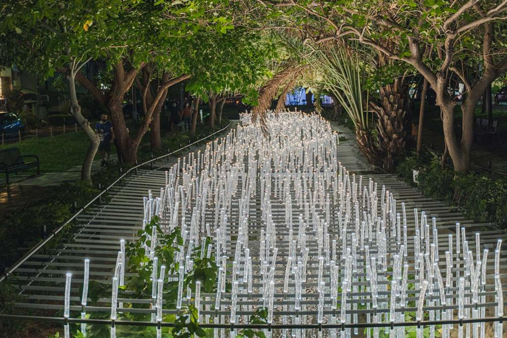 2021新竹光臨藝術節的隆恩圳燈區