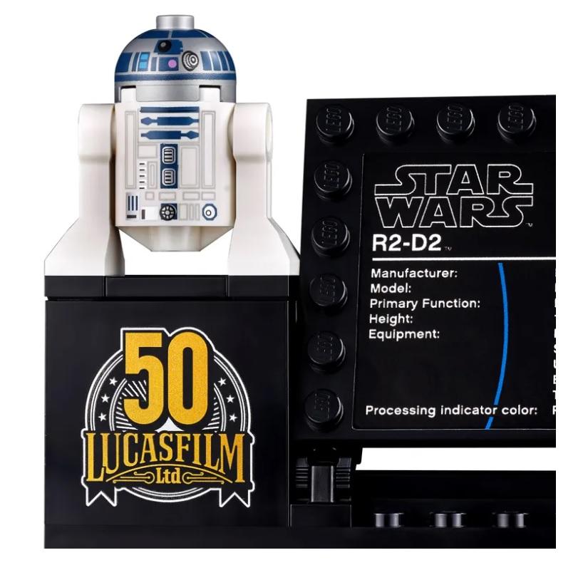 樂高LEGO全新升級《星際大戰》「R2-D2」模型!紀念盧卡斯影業50週年_09
