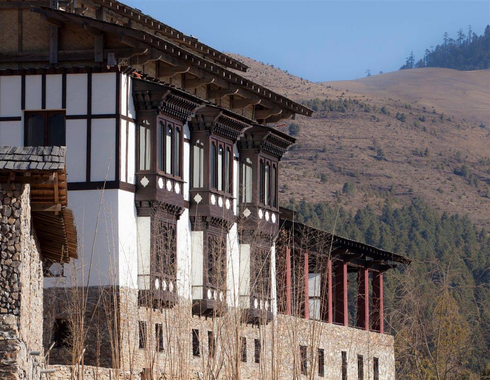 不丹「崗提山谷隱世小屋」坐擁喜馬拉雅山美景3