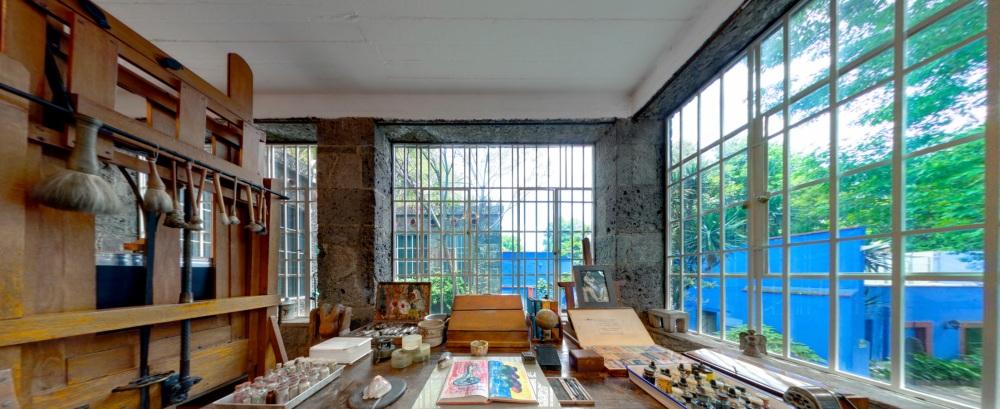 芙烈達·卡蘿博物館(Frida Kahlo Museum)線上看05