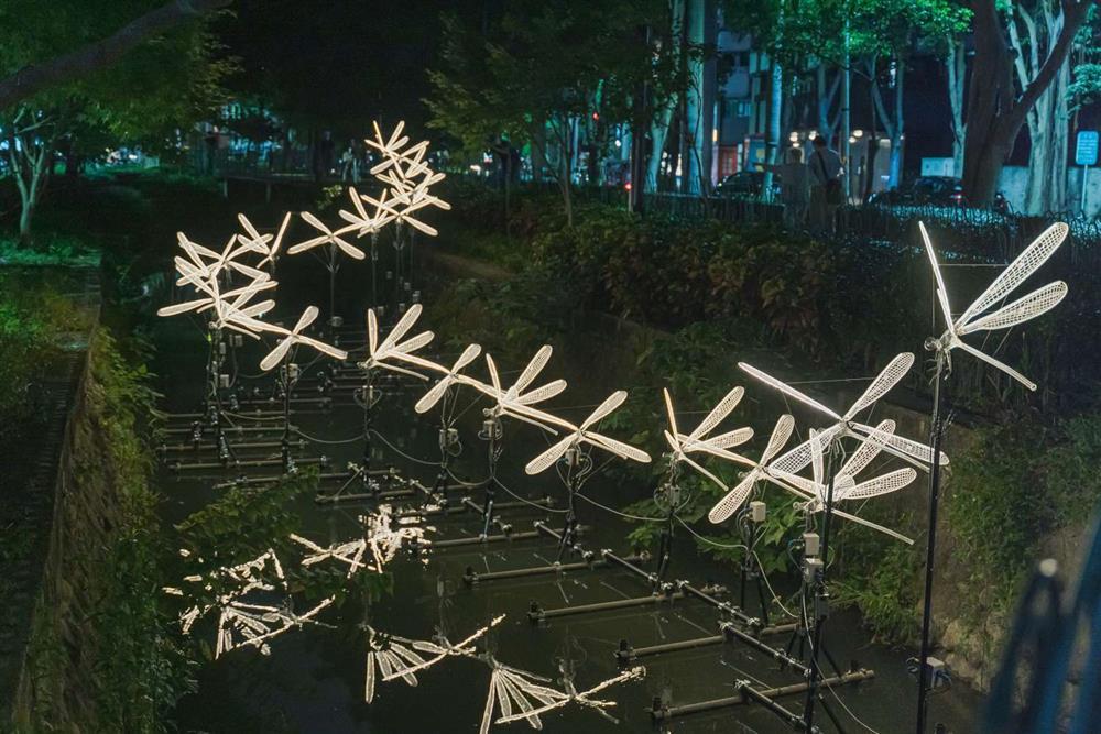 2021新竹光臨藝術節的隆恩圳燈區6-1500