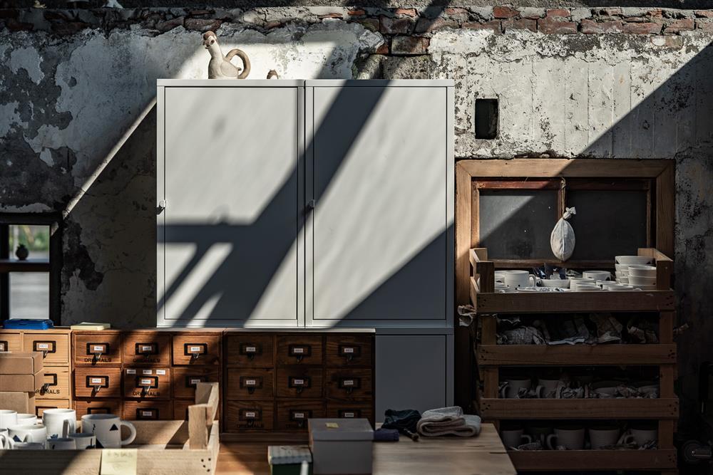 本來空間設計操刀「三星四季青花瓷工作室」7_9