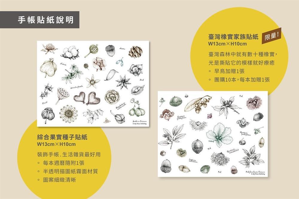 2022臺灣種實週曆8