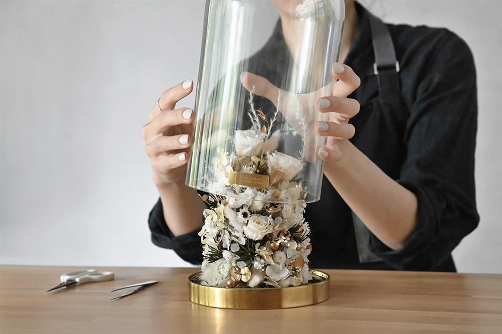8.玻璃罩聖誕樹