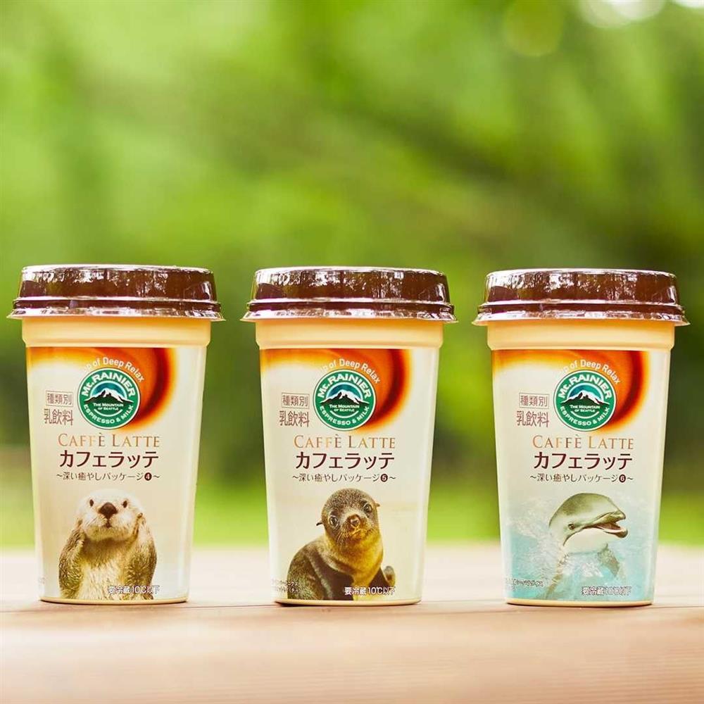 日本Mt.RAINIER讓動物園與水族館的可愛動物躍上咖啡杯身8_41
