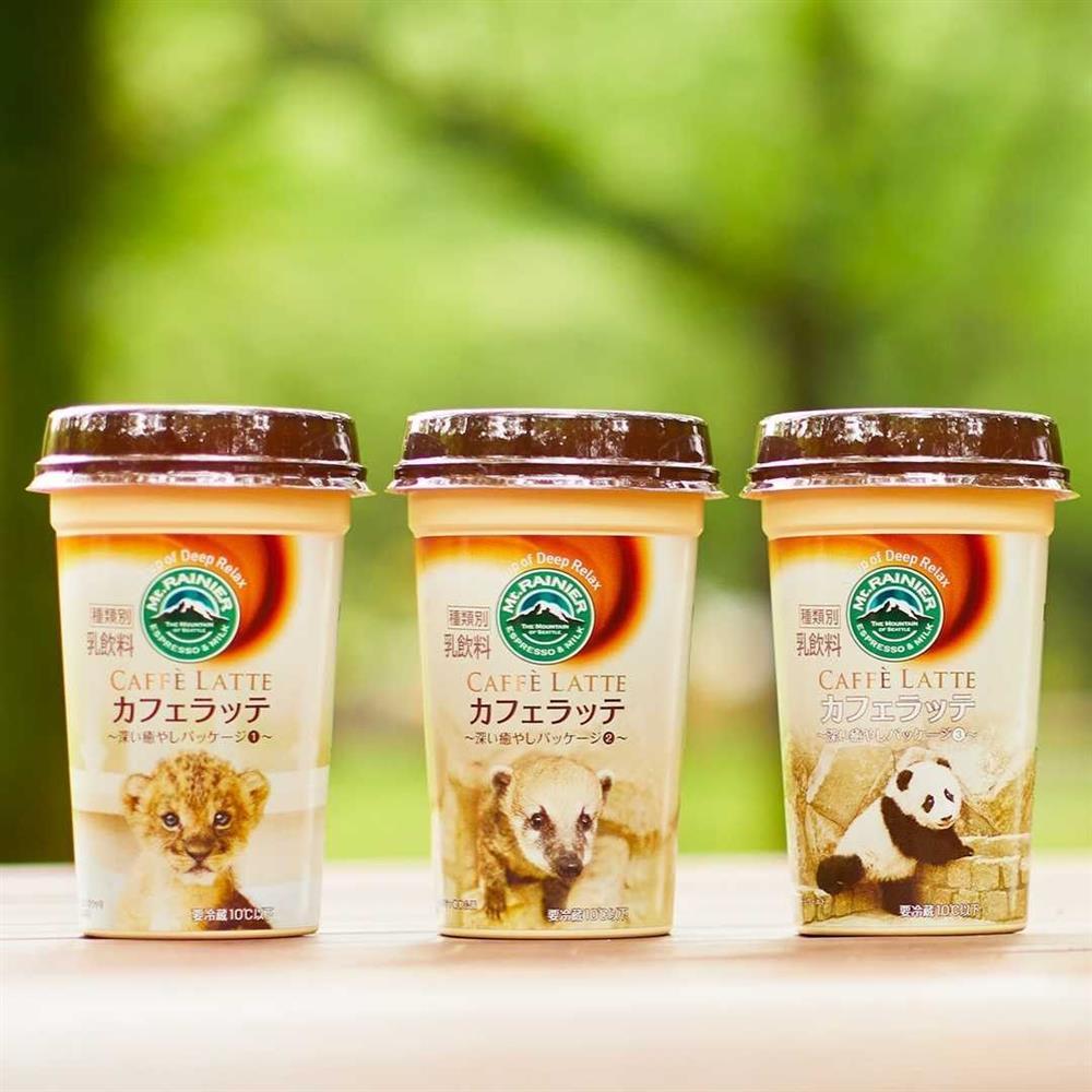 日本Mt.RAINIER讓動物園與水族館的可愛動物躍上咖啡杯身8_42