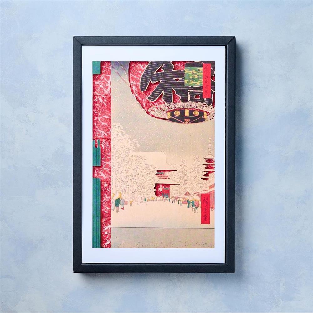 貓抓板、近江牛變身浮世繪名作!搖身一變成家中藝術品的日本創意設計_08