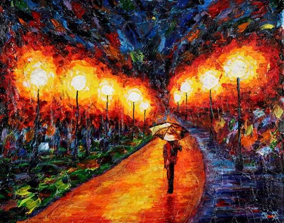 La Vie 見證奇蹟的時刻!失明畫家用生命畫出光明繪畫