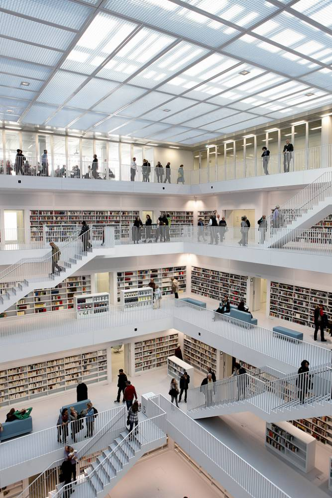 德國斯圖加特市立圖書館