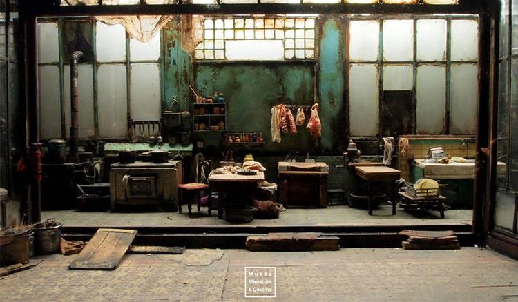 微型電影場景竟可以如此精細唯美 法國里昂袖珍博物館