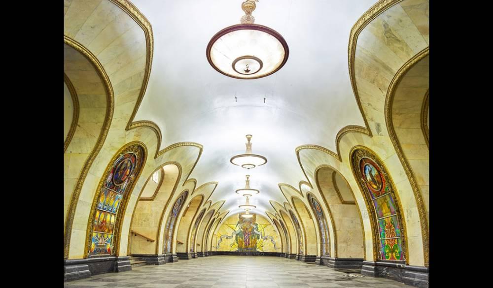 俄羅斯莫斯科於蘇聯時代所建的華麗地鐵站