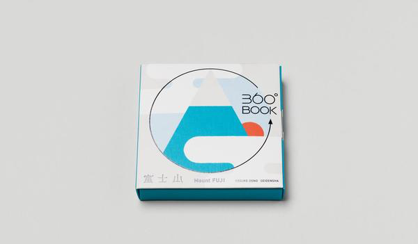 360-degree books《Mount Fuji富士山》