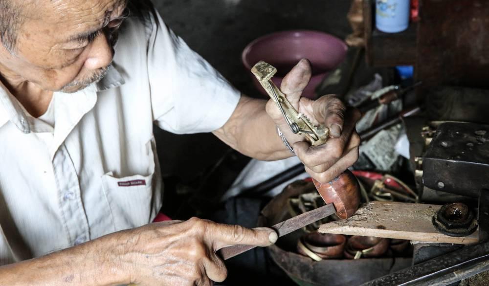 銅冰勺工藝