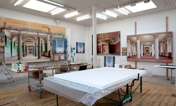 英國藝術家Ben Johnson精細的建築寫實畫作!彷彿照片般擬真_07