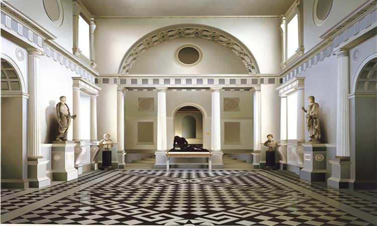 英國藝術家Ben Johnson精細的建築寫實畫作!彷彿照片般擬真_01