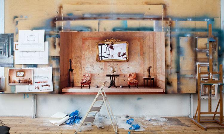 英國藝術家Ben Johnson精細的建築寫實畫作!彷彿照片般擬真_05