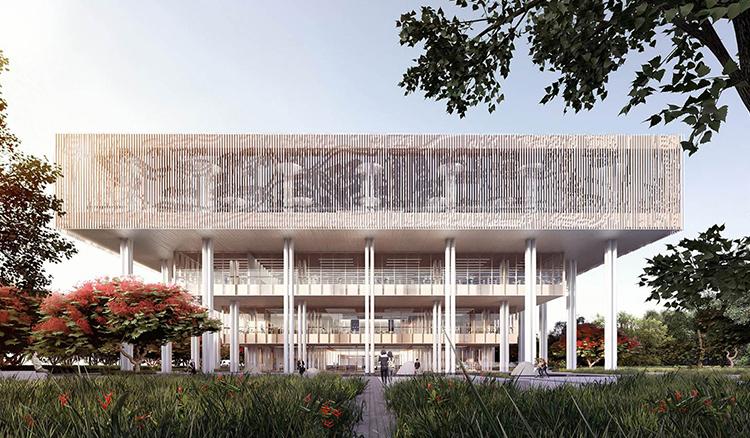 荷蘭+台灣聯手打造台灣最美圖書館-台南市立圖書館