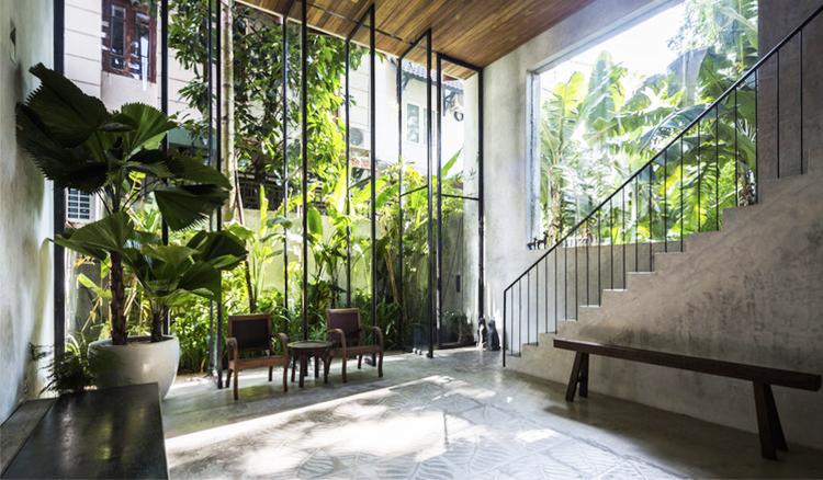在家中擁抱綠意-越南住宅的視覺錯位讓你擁有樂活生活_01