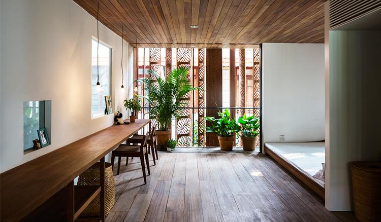 在家中擁抱綠意-越南住宅的視覺錯位讓你擁有樂活生活_05
