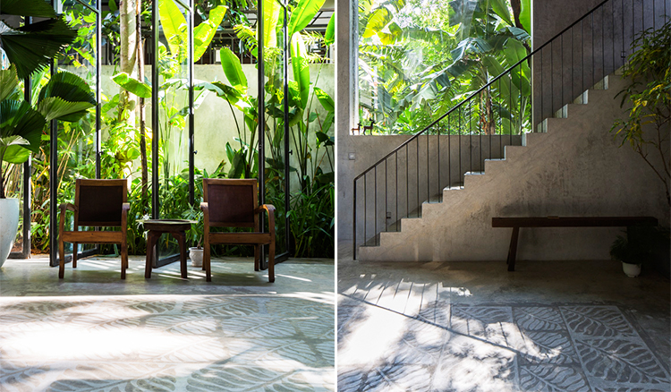 在家中擁抱綠意-越南住宅的視覺錯位讓你擁有樂活生活_08