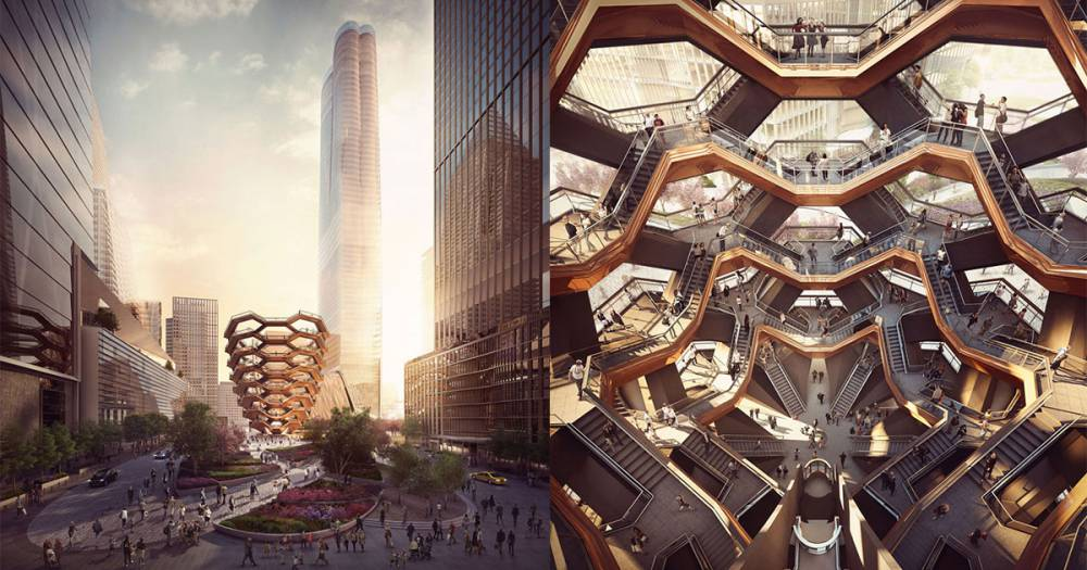 上海世博英國館蒲公英種子設計師新作!154個霍格華茲式樓梯建構出曼哈頓新地標!