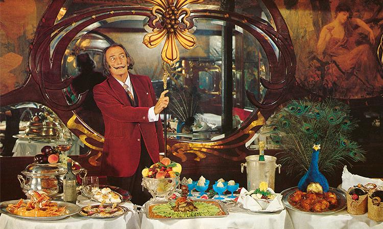 達利做的菜好吃嗎?藝術家40年後再版超現實狂野食譜!_01